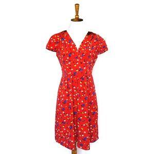 Anthropologie Hi There from Karen Walker red dress